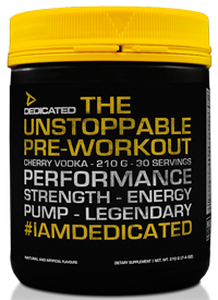 dedicated nutrition unstoppable V2